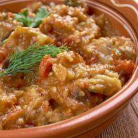 Moroccan Za'alook Salad
