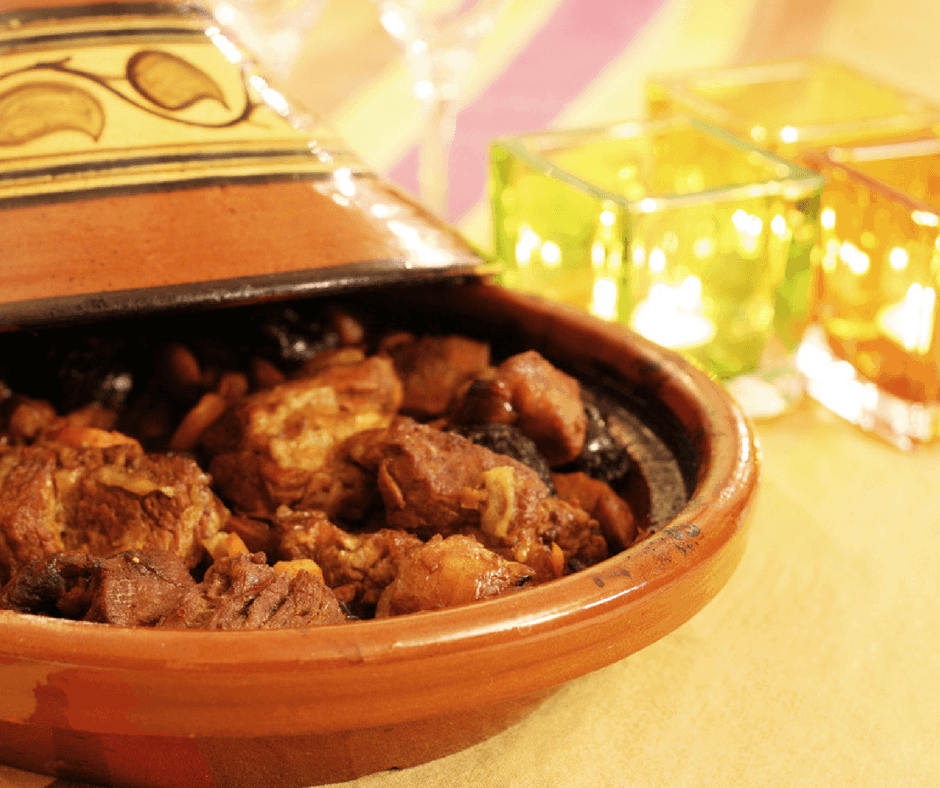 Moroccan Beef Tajine with Argan Oil