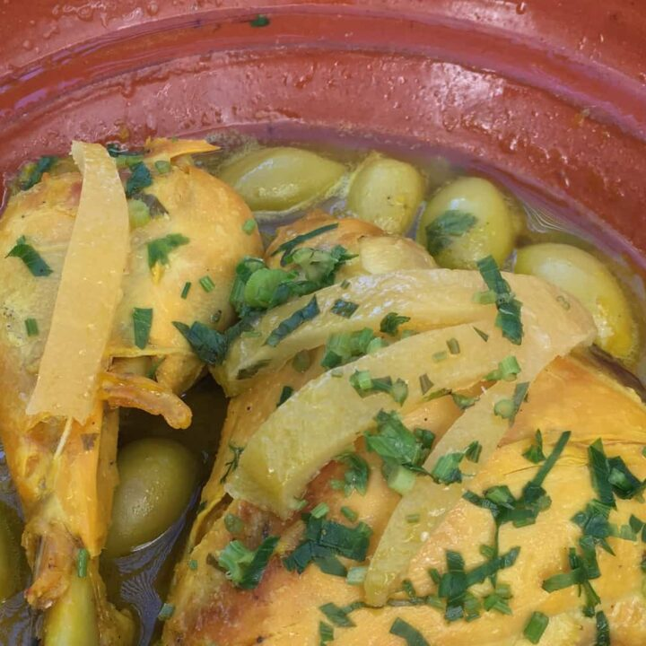 Classic Chicken and Olive Tajine Recipe