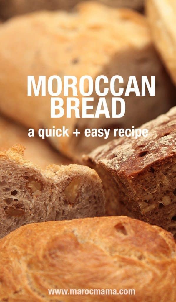 How to Make Moroccan Bread (Khobz)