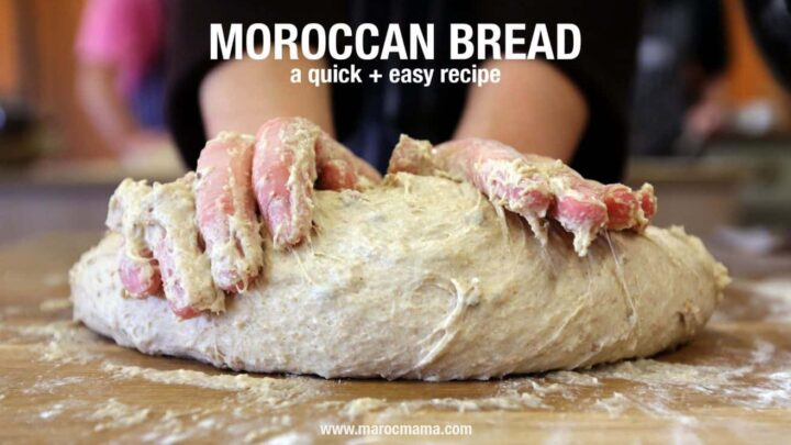 Moroccan Recipe: Bread or Khobz