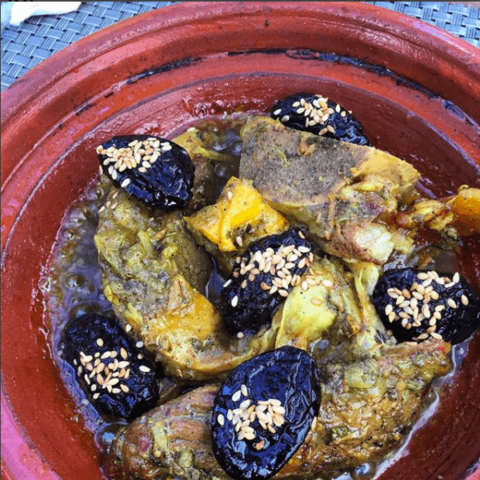 Beef Tajine with Prunes