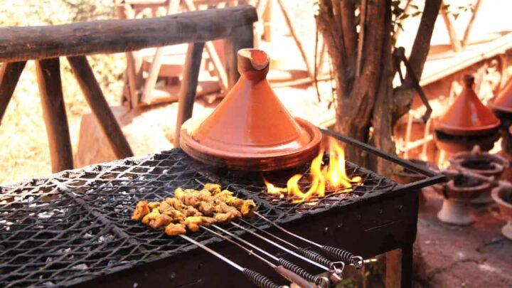 The Tajine Tales: Cooking a Tajine on the Grill