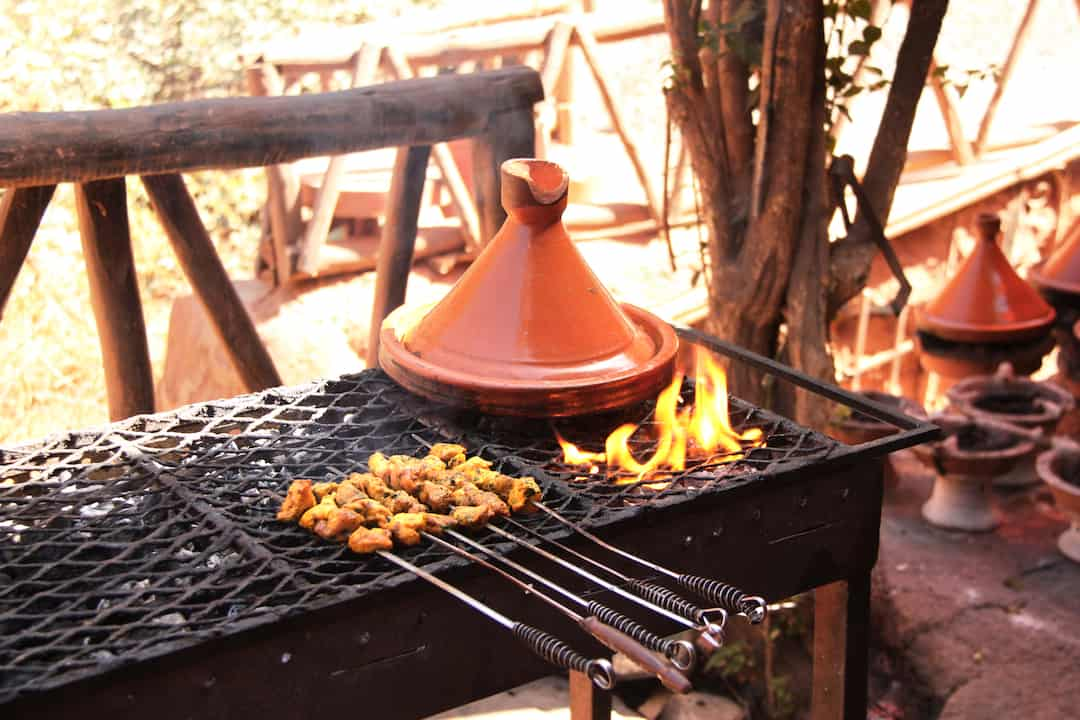 The Tajine Tales: Cooking a Tajine on the Grill