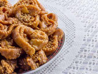 Moroccan Cooking_Chebakia Recipe