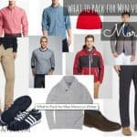 what to pack men morocco