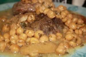 Beef and Chickpea Tajine