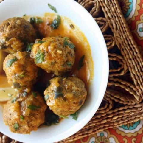 Amnahs' Moroccan Meatball Tagine