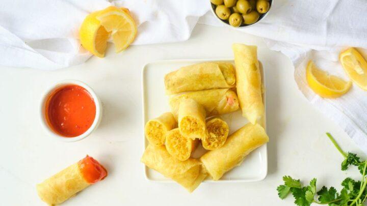 Moroccan Shrimp Briouat Recipe