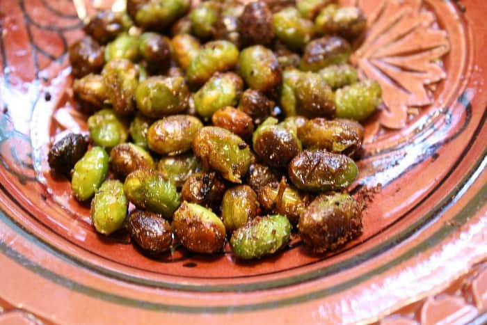 Moroccan Spiced Edamame