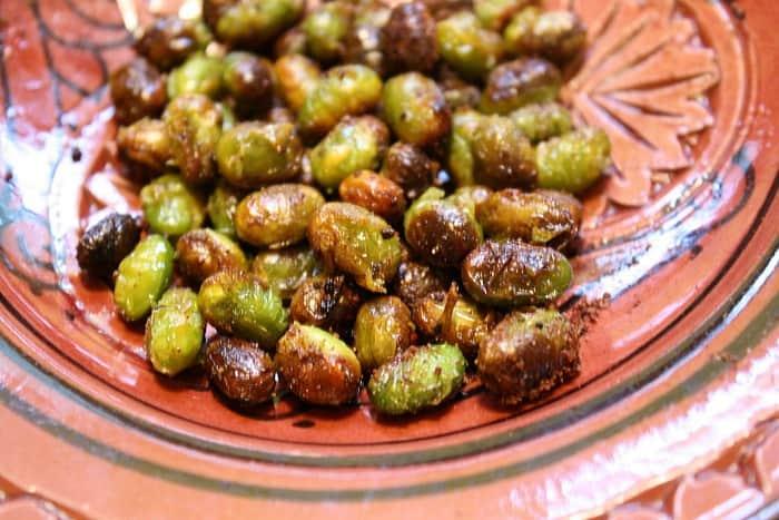 Moroccan Spiced Edamame