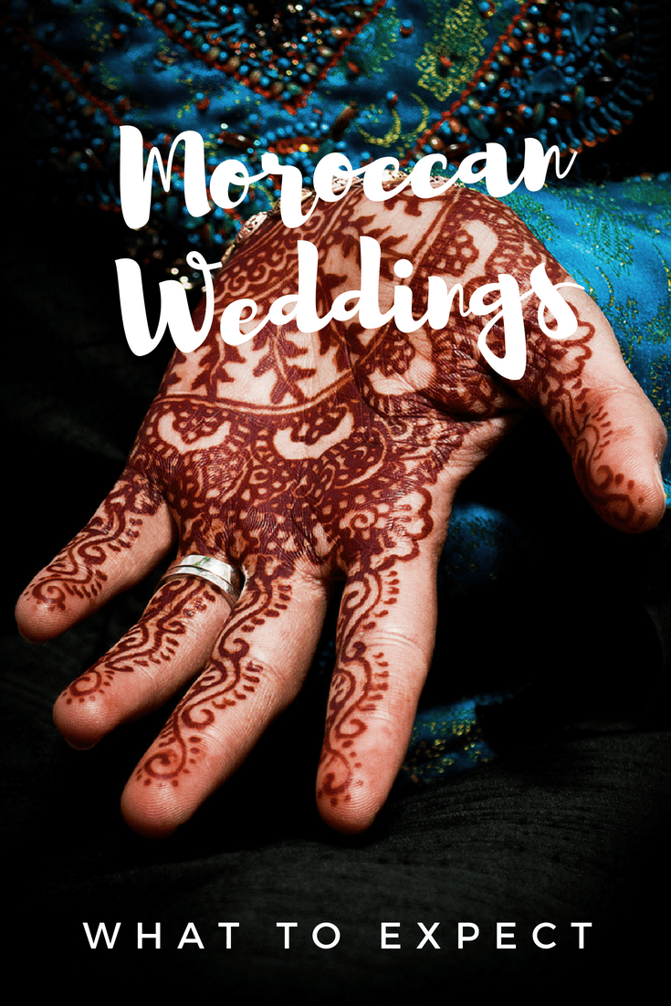 What to expect when planning or attending a Moroccan wedding