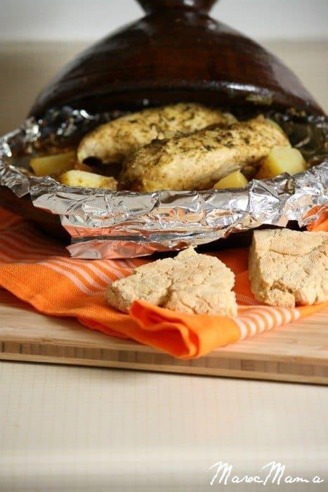 Chicken and Potato Tajine