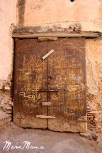 Marrakech Kasbah Door