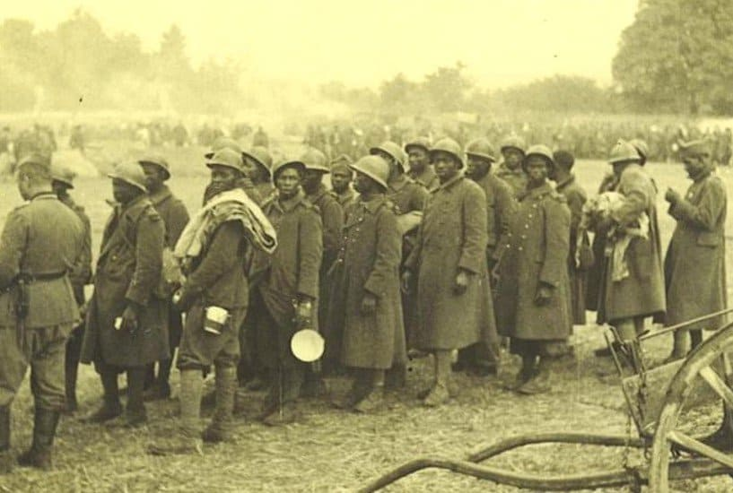 French African soldiers