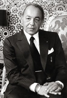King Hassan II of Morocco