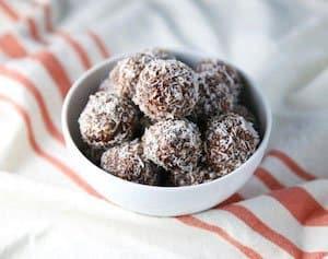 Coconut Cashew Date Balls