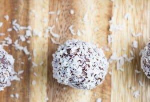 Nut Free Jaffa Bliss Balls