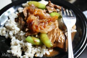 Weeknight Beef Tagine