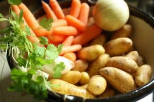 Vegetables for Chorba