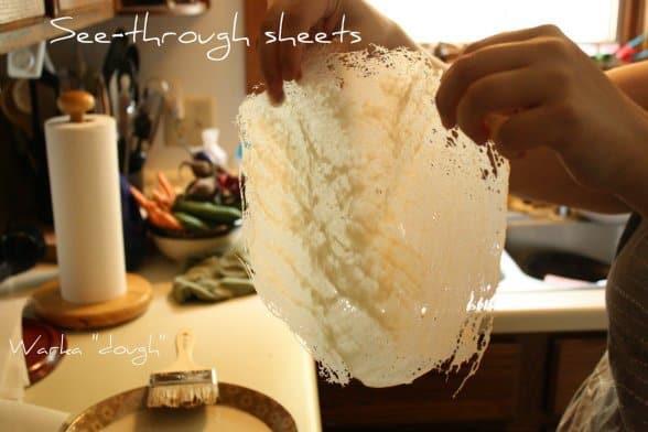 Gluten-Free Warka {Moroccan Phyllo}