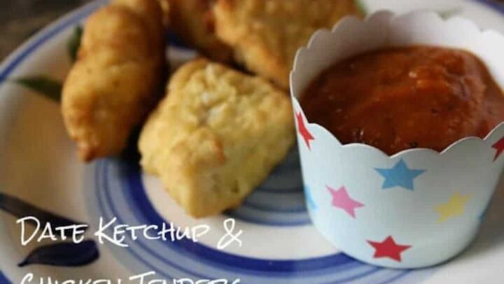 Date Ketchup and Chicken Bites