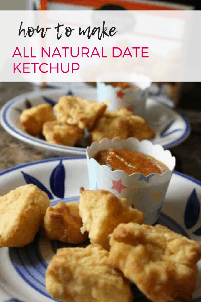 How to Make All Natural Date Ketchup