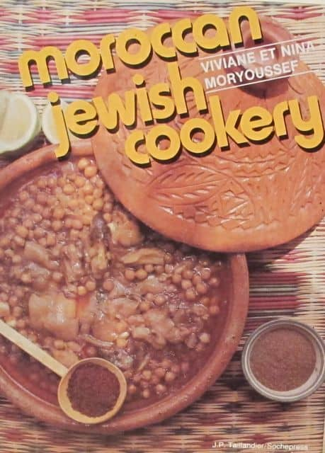 cookbook - Moroccan Jewish Cookery