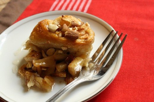 Moroccan Apple Croissant
