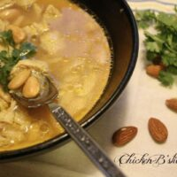 Chicken B'stila Soup