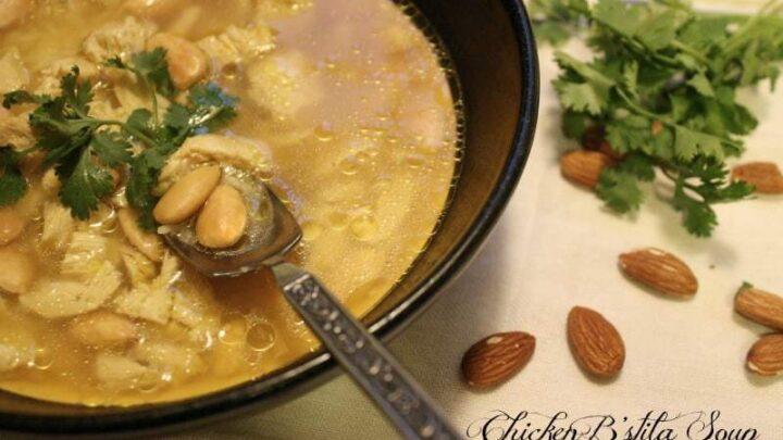 Chicken B'stila Soup