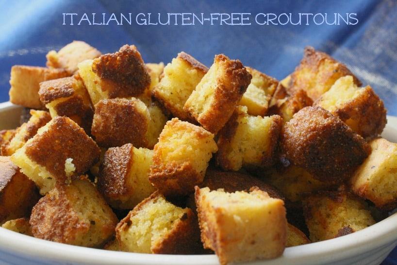 gluten free italian croutons