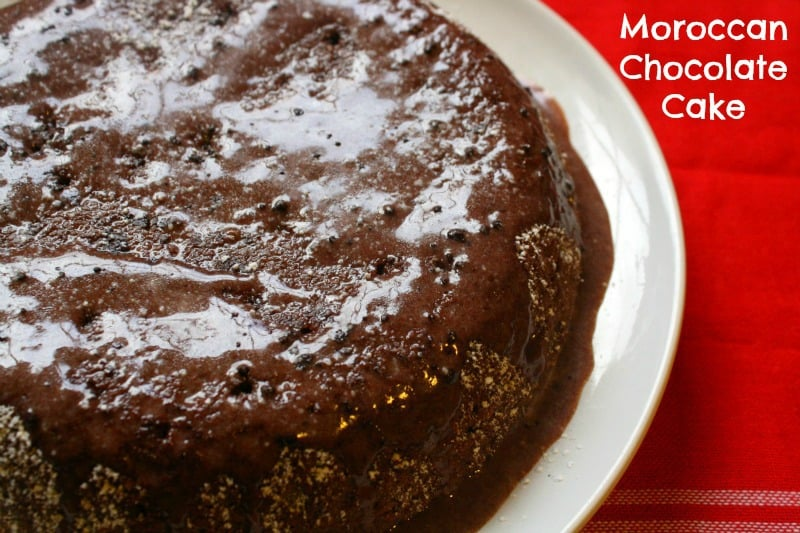 Gluten Free Moroccan Chocolate Cake