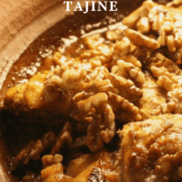 Chicken and Walnut Tajine