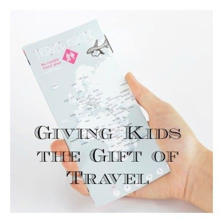 giving the gift of travel