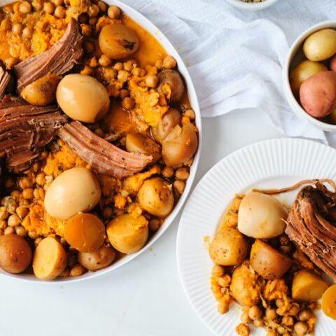 Skinha or Dafina – Moroccan Jewish Sabbath Meal