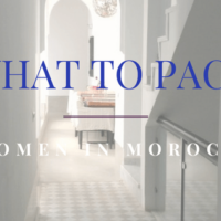 what to pack women in morocco
