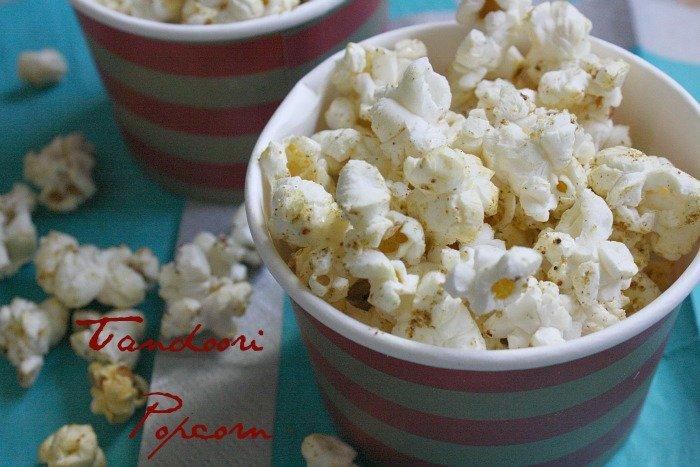 Tandoori Spiced Popcorn