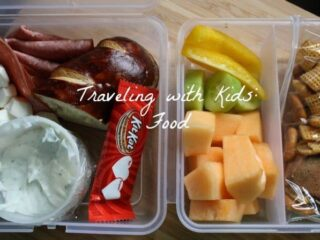 Food when traveling with kids