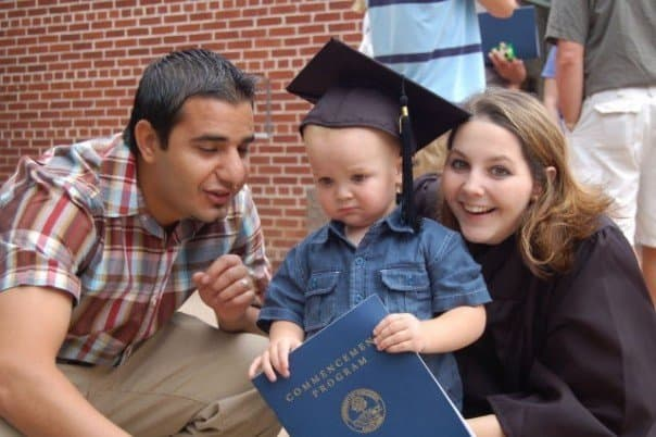 I graduated from university while MarocBaba waited for his greencard application to process.