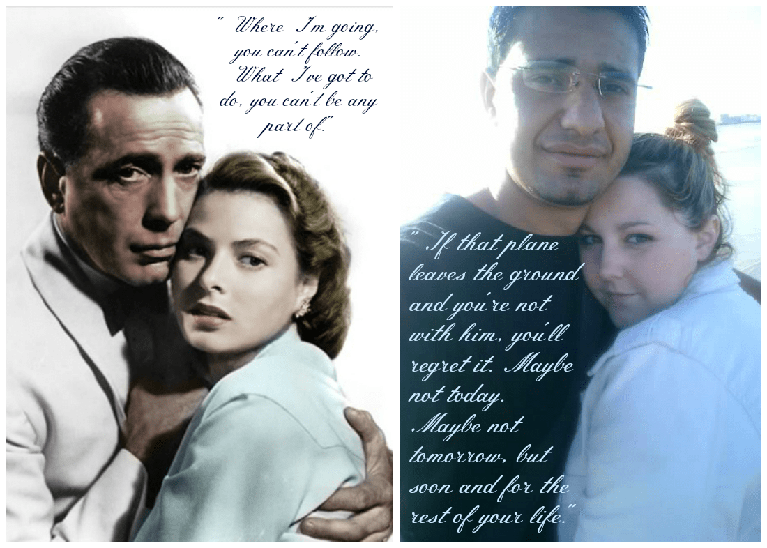 Casablanca Quote Collage