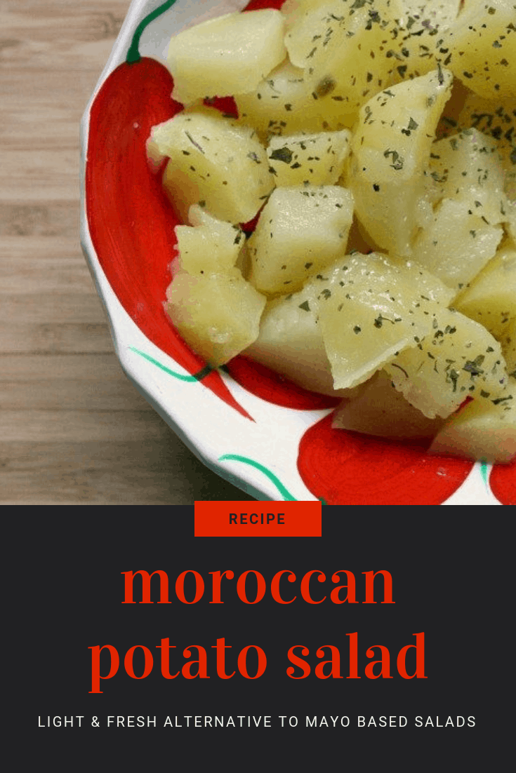 How to Make Moroccan Potato Salad