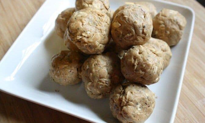 Mom's Protein Power Balls