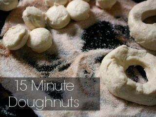 15 Minute Doughnuts