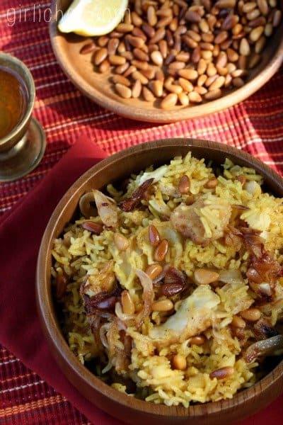 Recipe for Middle Eastern Sayadieh Bil Samek