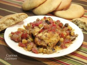 Sweet Chicken Tajine from Curious Cuisiniere