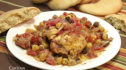Sweet Chicken Tajine