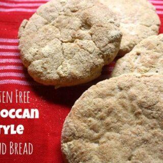 Gluten Free Moroccan Style Round Bread