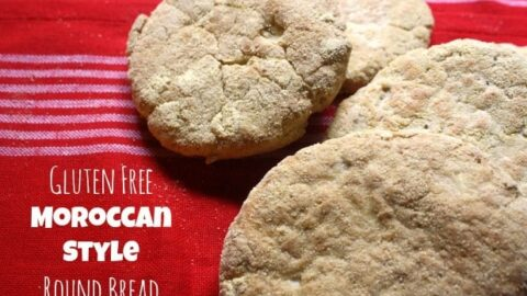 Gluten-Free Moroccan Style Round Bread