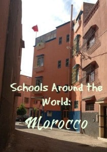 Outside Moroccan School